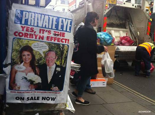 The Corbyn Effect includes throwing out the rubbish